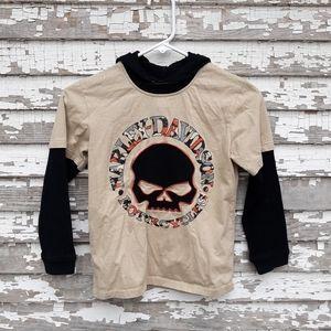 Harley Davidson hoodie size 8/10